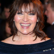 Glamorous Lorraine at the National Television Awards