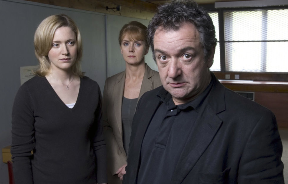 Actor Ken Stott as John Rebus