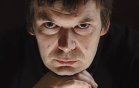 Ian Rankin, photographed at his Edinburgh Home