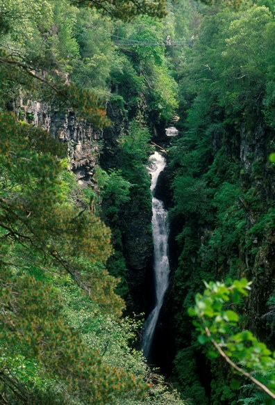 Corrieshalloch Gorge. Photo copyright VisitScotland/ScottishViewpoint