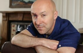 Christopher Brookmyre. Photo Barrie Marshall