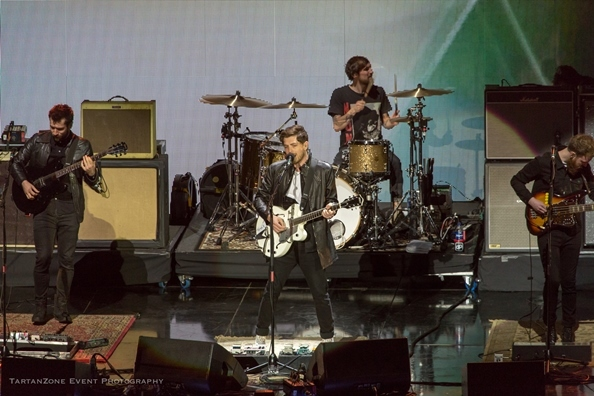 Twin Atlantic opening the concert. Photo courtesy of DF Concerts