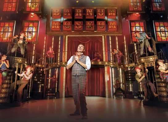 Barnum - this week's hit musical at The Playhouse. Pic copyright of Johan Person