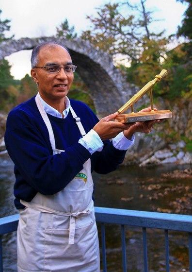 Dr Izhar Kahn, winner of the coveted Golden Spurtle in 2016.