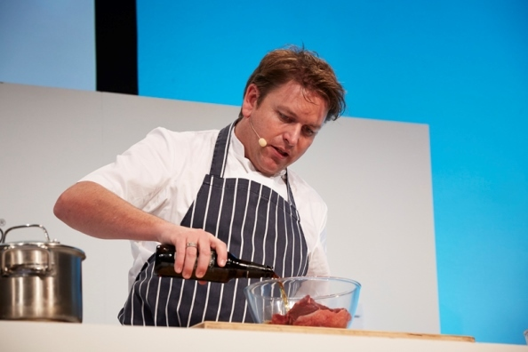 James Martin at a previous BBC Good Food Show