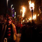 Last year's Samhuinn celebrations. Photo copyright of Richard Winpenny