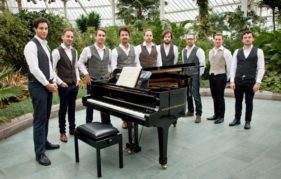 Scozzesi at their debut concert in the Winter Gardens. Photo by Robin Mitchell