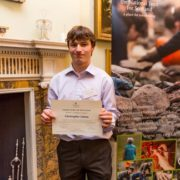 Chris Linton from House of Dun, one of the National Trust for Scotland's Volunteers of the Year 2014