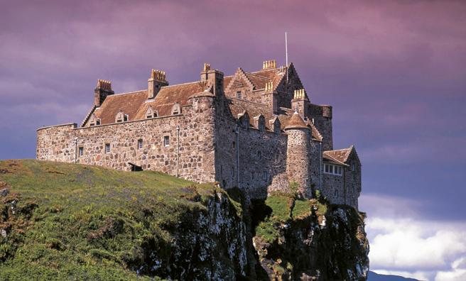 Duart Castle casts an impressive shadow. Pic: Alamy