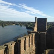 The view from the top of Linlithgow Palace. Photo Tasmin Glass