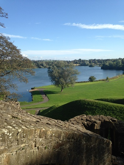 A view from Linlithgow Palace. Photo by Tasmin Glass