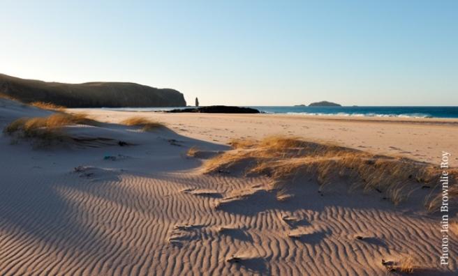 Sandwood Bay, Sutherland. Photo: Iain Brownlie Roy