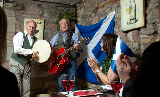 Music's an important part of the Saltire Festival