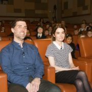 Scottish Actress Shirley Henderson at one of Into Film Festival's exclusive screenings