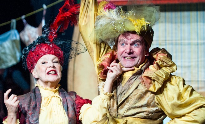 With aunts like these, it's no wonder James ran away in a Giant Peach! Photo courtesy of Dundee Rep