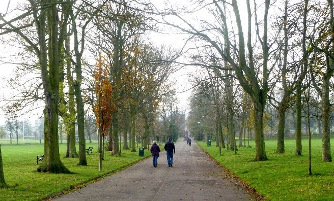 A walk through Inverleith Park
