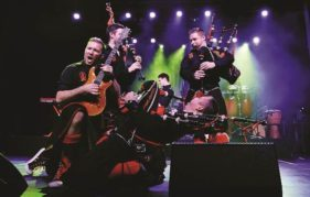 Red Hot Chilli Pipers - heating up Aberdeen on Saturday night!