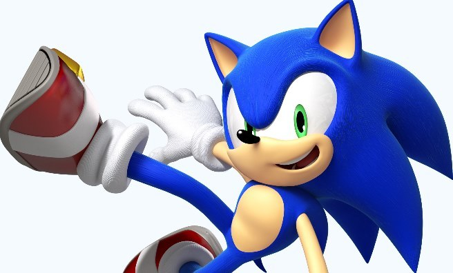 Sonic - one of the stars of the latest exhibition at National Museum of Scotland. Photo courtesy of Sega