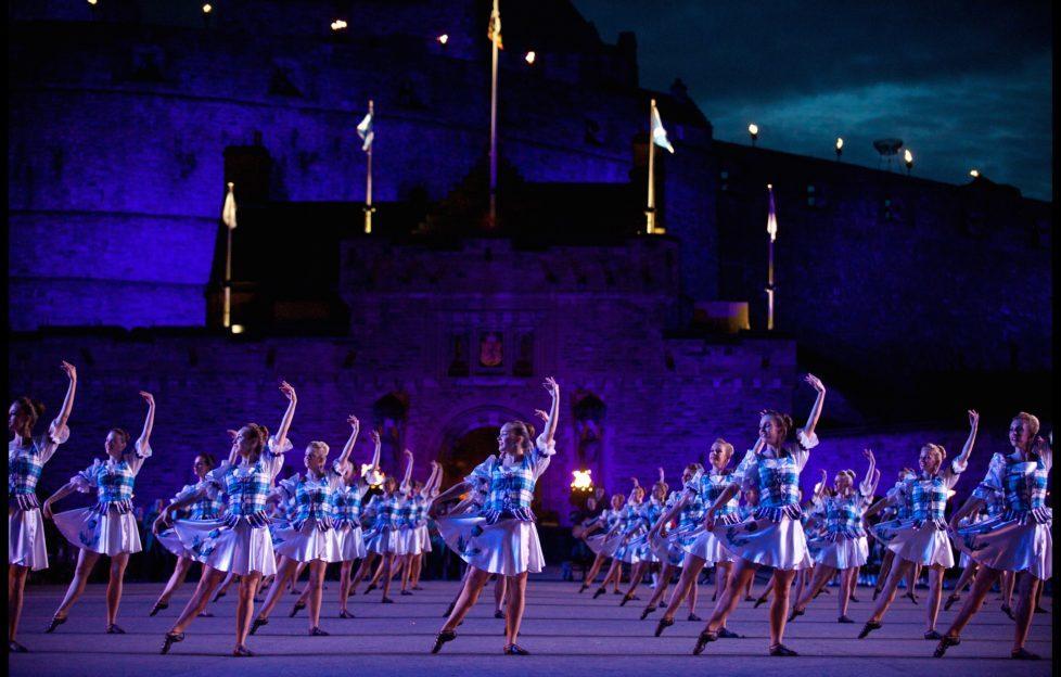 Highland Dancers at the Royal Edinburgh Military Tattoo 2014. Photo copyright Royal Edinburgh Military Tattoo