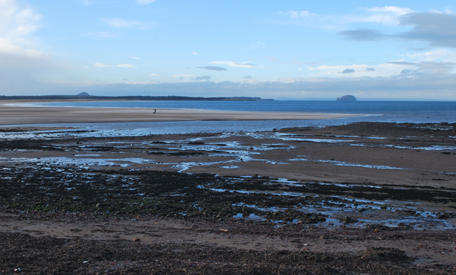 A view of the coast on the new self-guided walk from the Royal Geographic Society