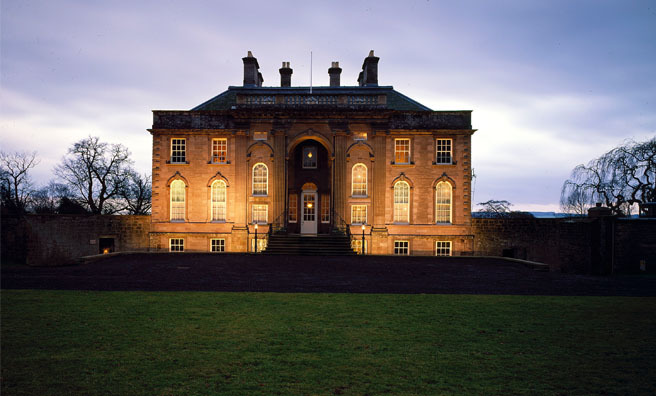 The exquisite National Trust for Scotland's House of Dun