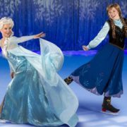 Anna and Elsa, the Frozen Stars, get their skates on for Disney on Ice