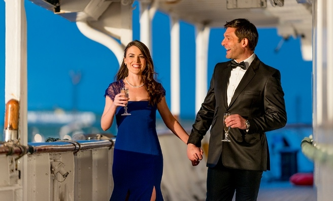 A Valentine's Night to remember on board The Royal Yacht Britannia