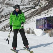 Skiing on Cairngorm Mountain. Image copyright Ski-Scotland and Steven McKenna Photography