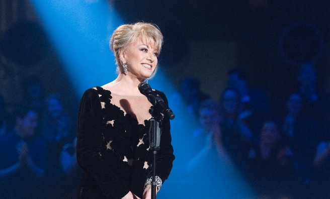 Elaine Paige, star of this year's Glamis Prom
