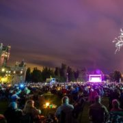 Glamis Prom - a fabulous night of music, glamour, fireworks - and picnics!