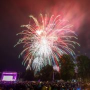 Glamis Prom's fireworks finale