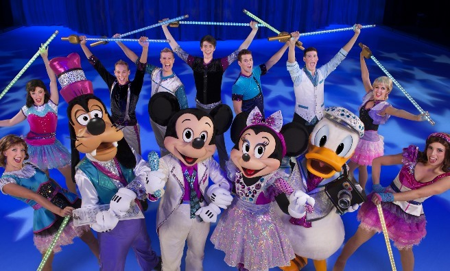A few of the skating stars from Disney On Ice's Magical Ice Festival