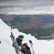 Admiring the view at Nevis Range. Image copyright Ski-Scotland and Steven McKenna Photography