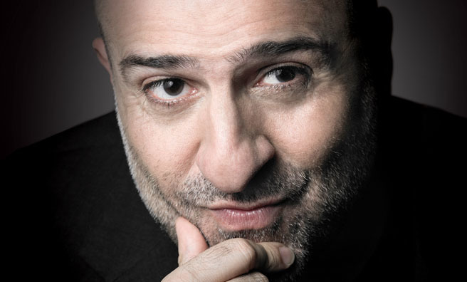 Omid Djalili will take to the stage across Scotland.