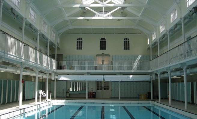 One of Edinburgh's Victorian swimming pools