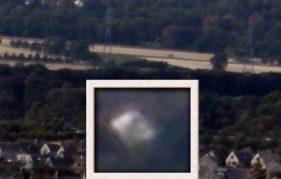 A possible UFO sighting over Gorebridge, near Edinburgh