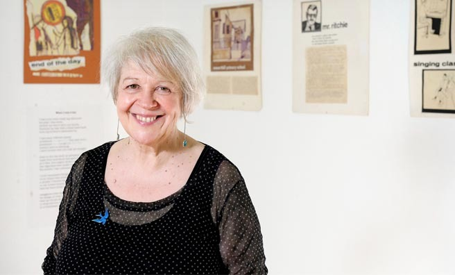 Join Liz Lochhead for a wee dram and poetry session. Image: Herald & Times Group