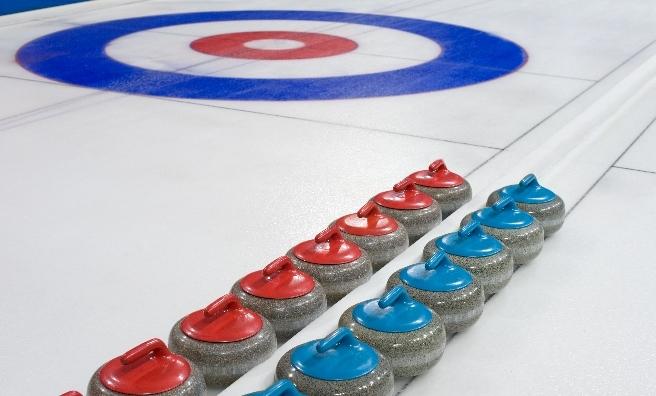 Curling is now played on ice rinks rather than frozen lochs.