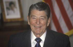 Former US President Ronald Reagan