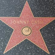 His star on the Hollywood Walk of Fame
