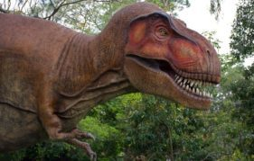 Dinosaurs will be on show at Edinburgh Zoo in April