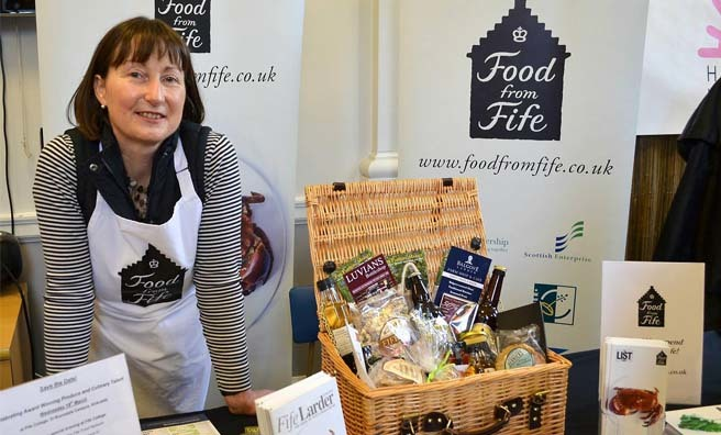 The Fife Festival of Food. Image: Fiona McNeill