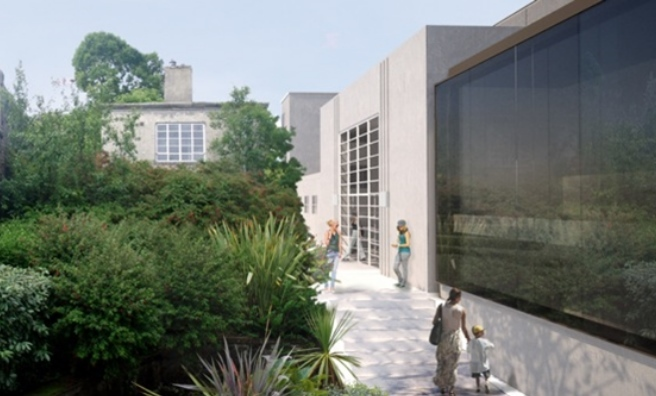An artist's impression of the exteruror of the renovated Rothesay Pavilion