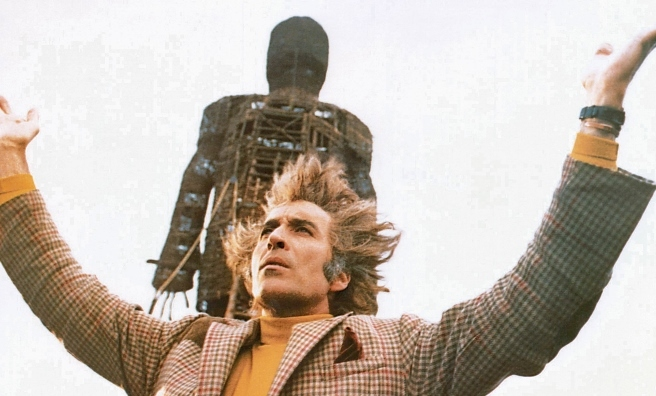 Wicker Man - enough to put anyone off island hopping! Photo by Everett Collection/Rex