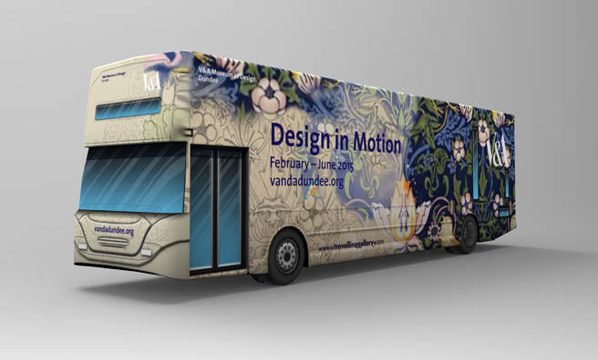 Design in Motion will tour across Scotland.