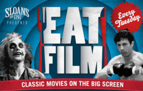 eatfilm sloans bar