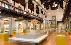Glasgow's Hunterian Museum, where the UK Tour will begin.