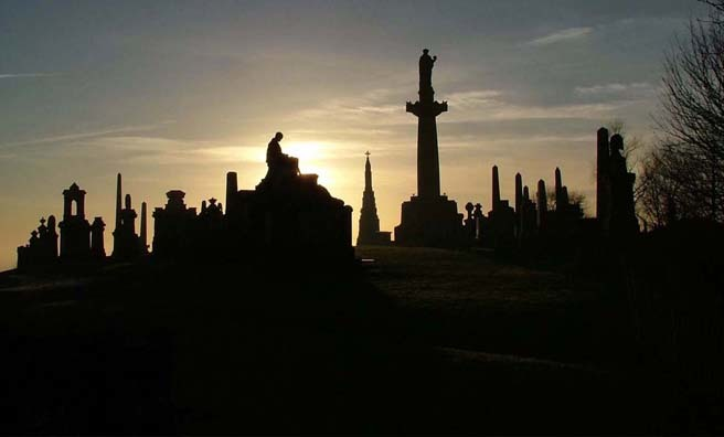 The Necropolis, Glasgow. Image: Ruth Johstone.