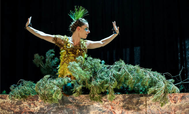 The Pine Tree, Poggle and Me will show at Dundee Rep as part of the Children's Festival.