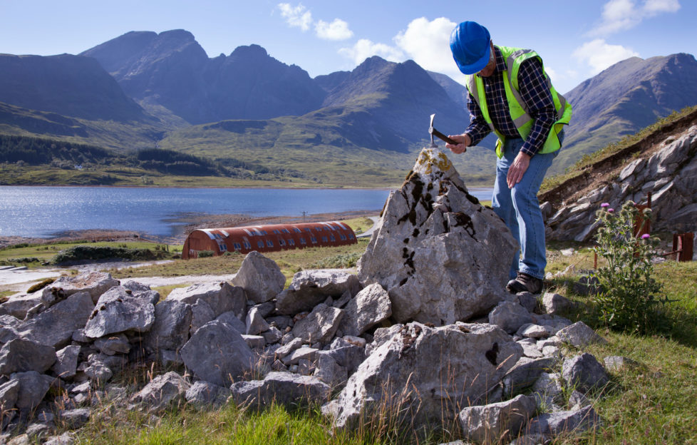 We investigate Scotland's rich fossil heritage. Alamy.